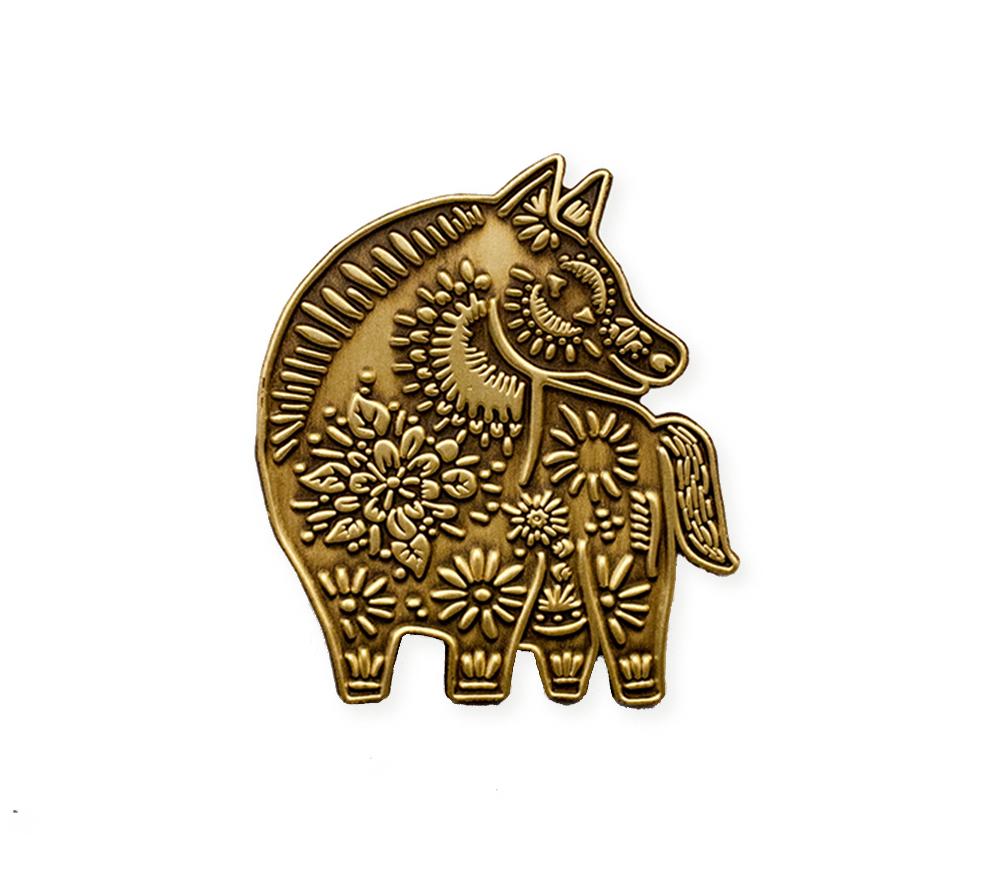 Dark Horse Enamel Pin