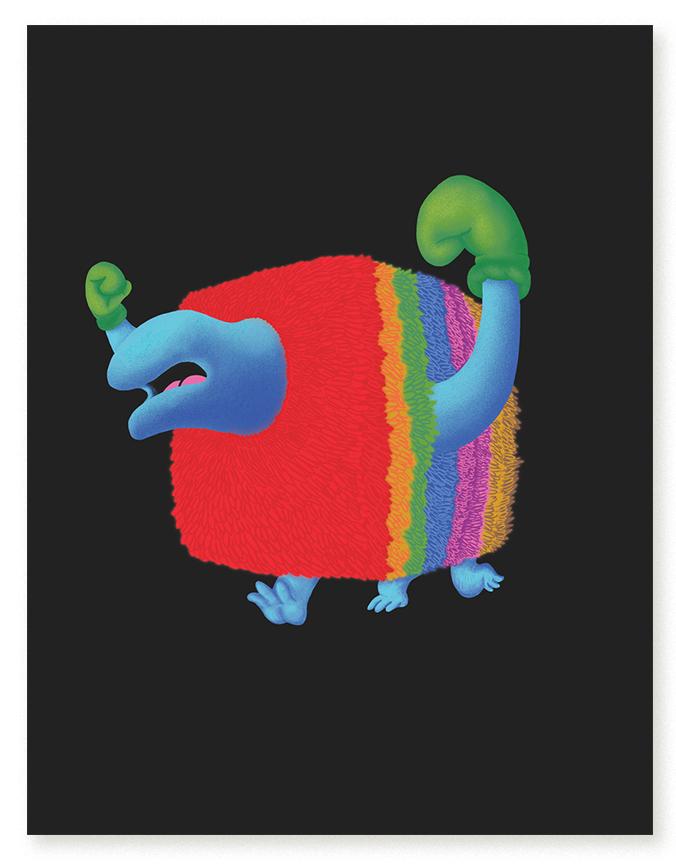 Re-Imagined Monster Illustration