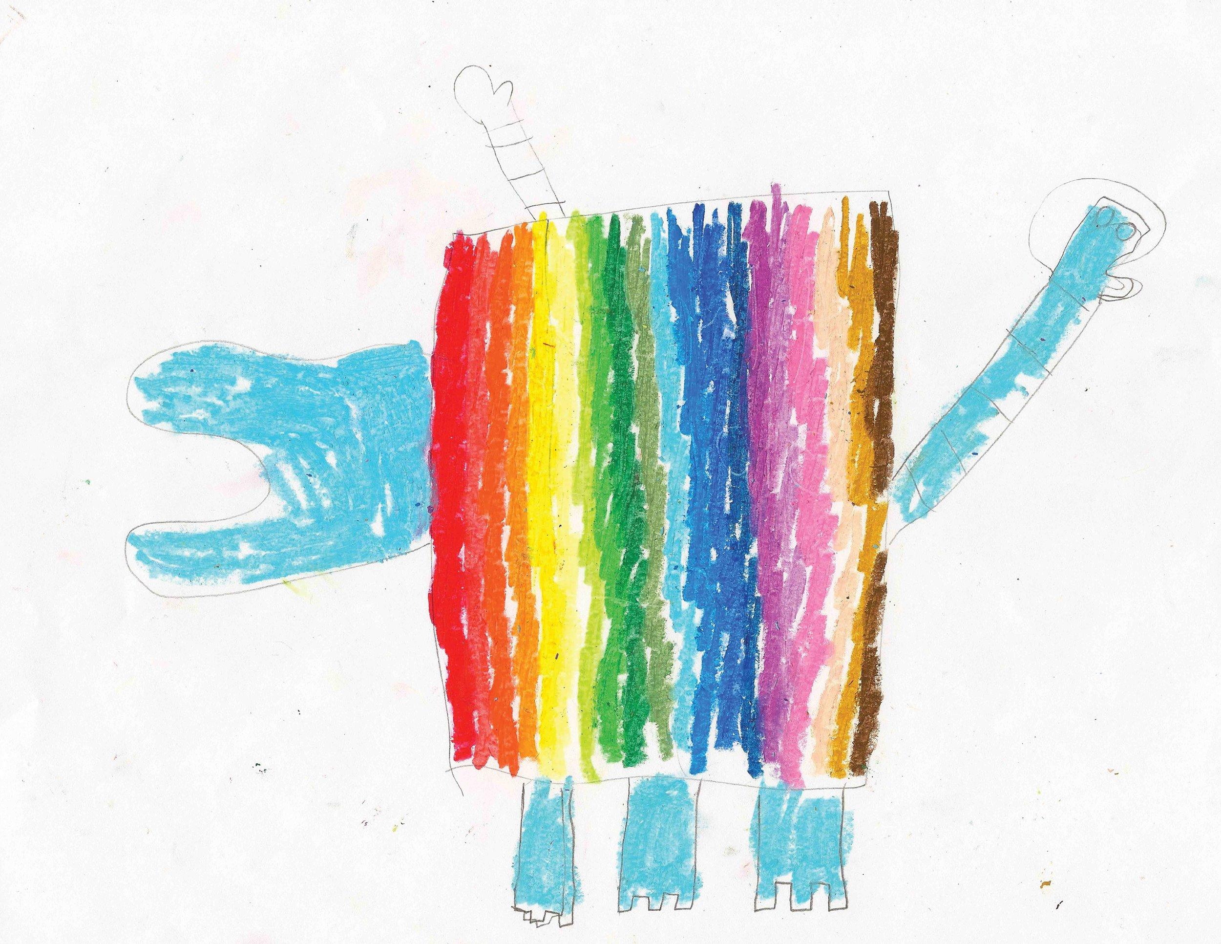 Original Monster Illustration by  Alyssa