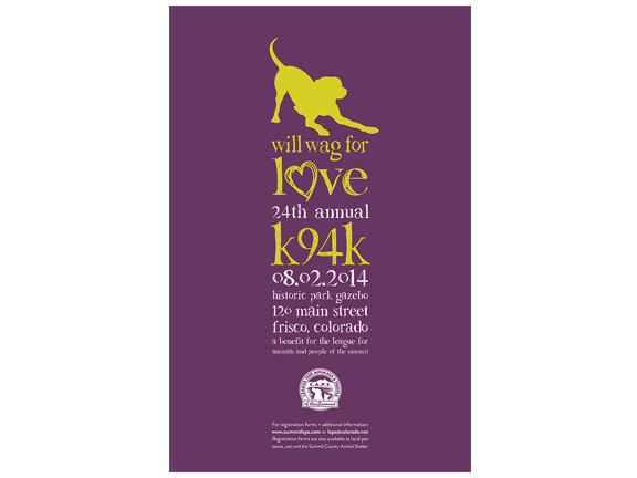 Our furry friends are uniting this year in the name of love! A new vibrant and fun design for the benefit of LAPS. Tshirts, posters, brochures, oh my!