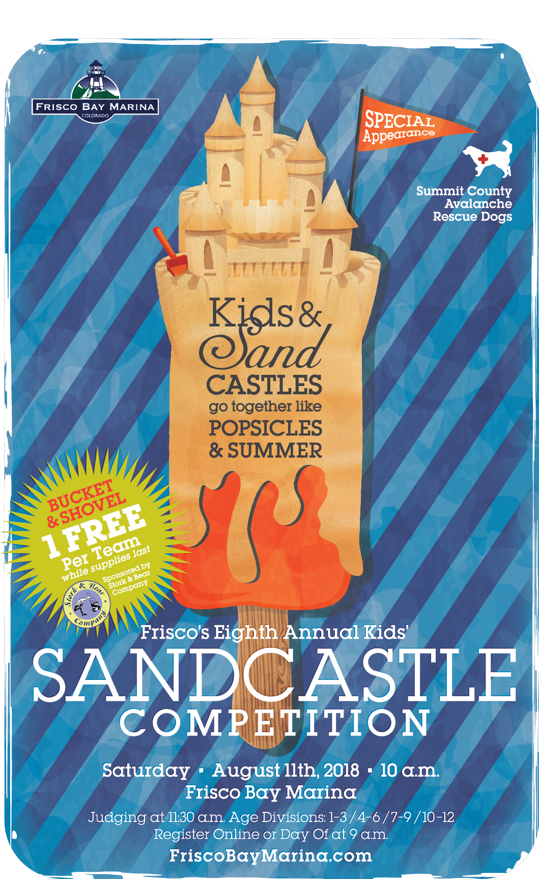 Sandcastle Competition Event Poster