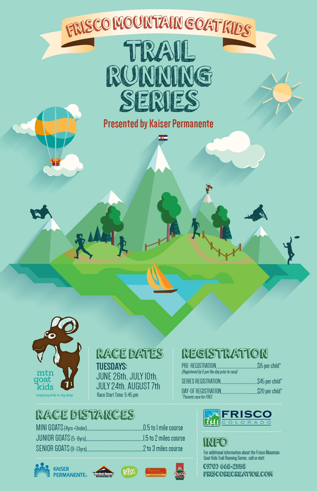 Mountain Goat Kids Trail Running Series