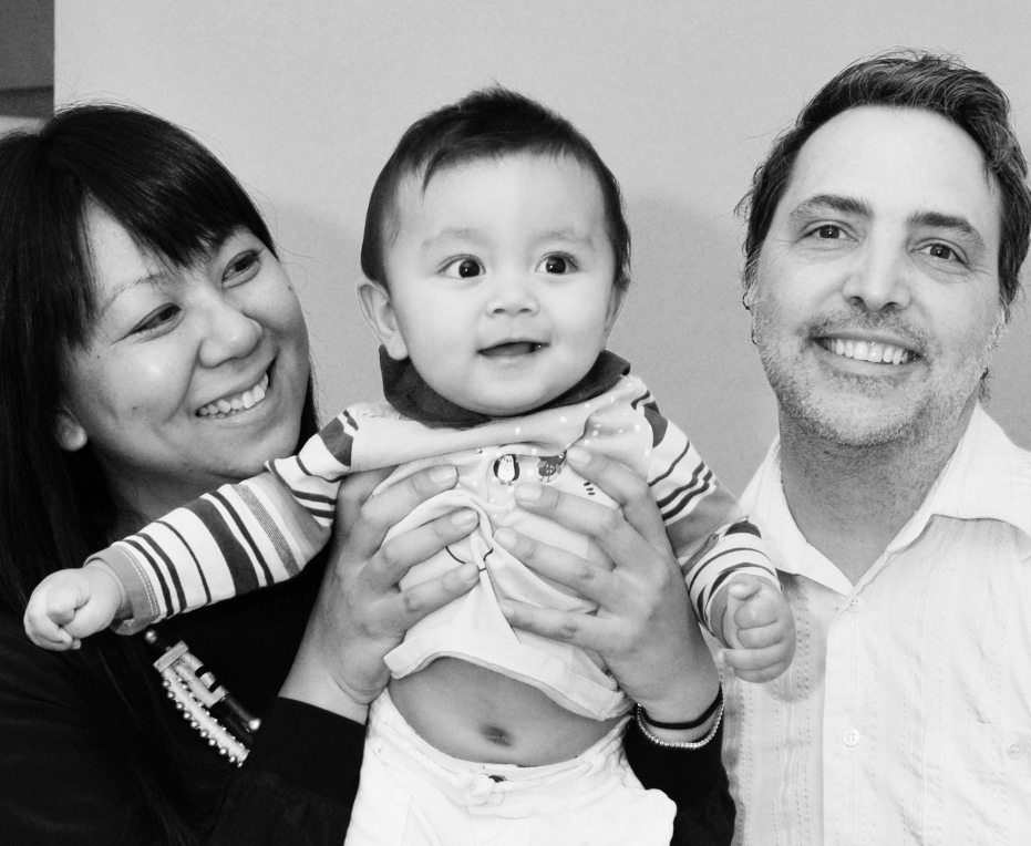 Pauline, Richard & baby Alexander