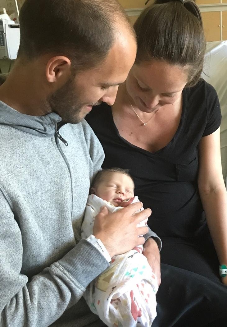 Mollie, Maury & baby Callen