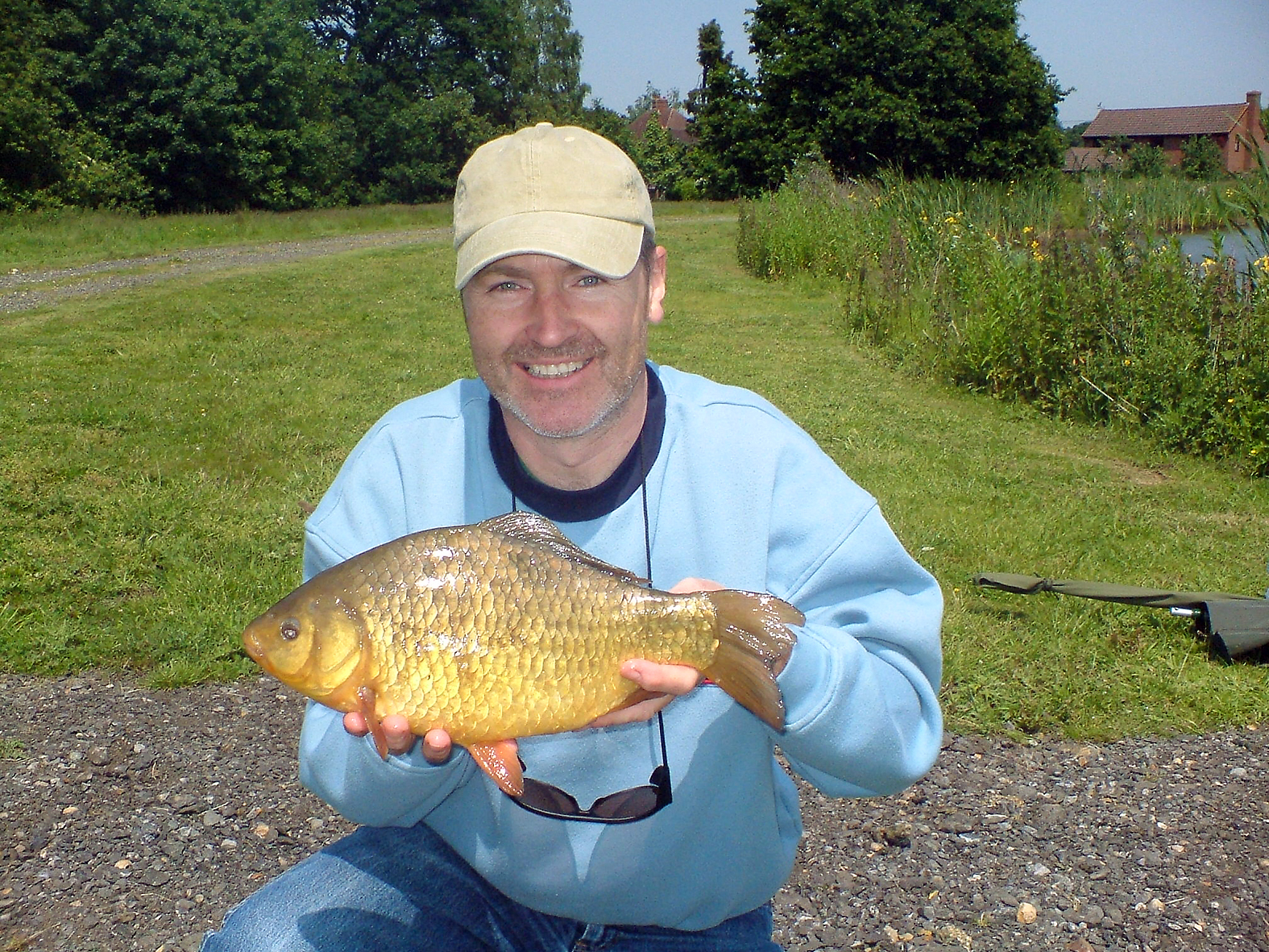 A visit to Marsh Farm, and a little bar of gold! 2lb 2ozs.