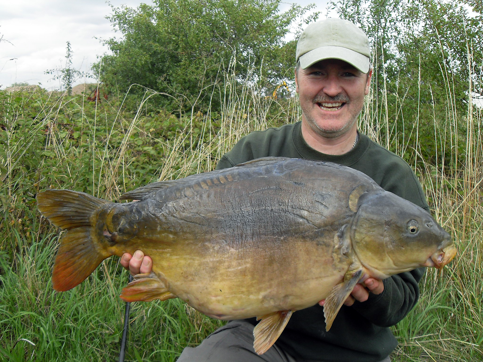 My first 'twenty'! Caught from a local club water it went 24lb 10ozs.