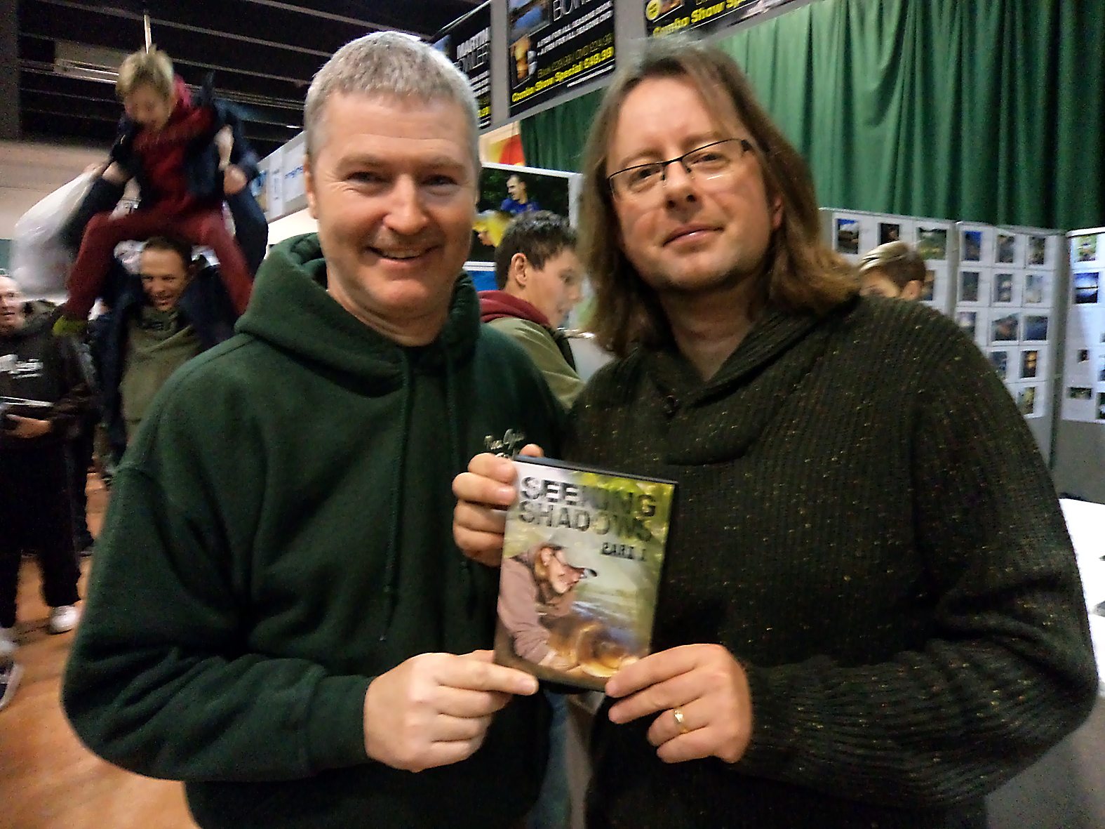 Don't think I have to introduce good friend Martin Bowler... showing off his recent release