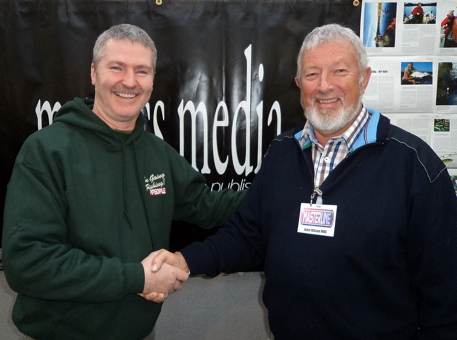 A chat with angling legend John Wilson... couldn't wait for each weeks 'Go Fishing' to come on, many years ago!