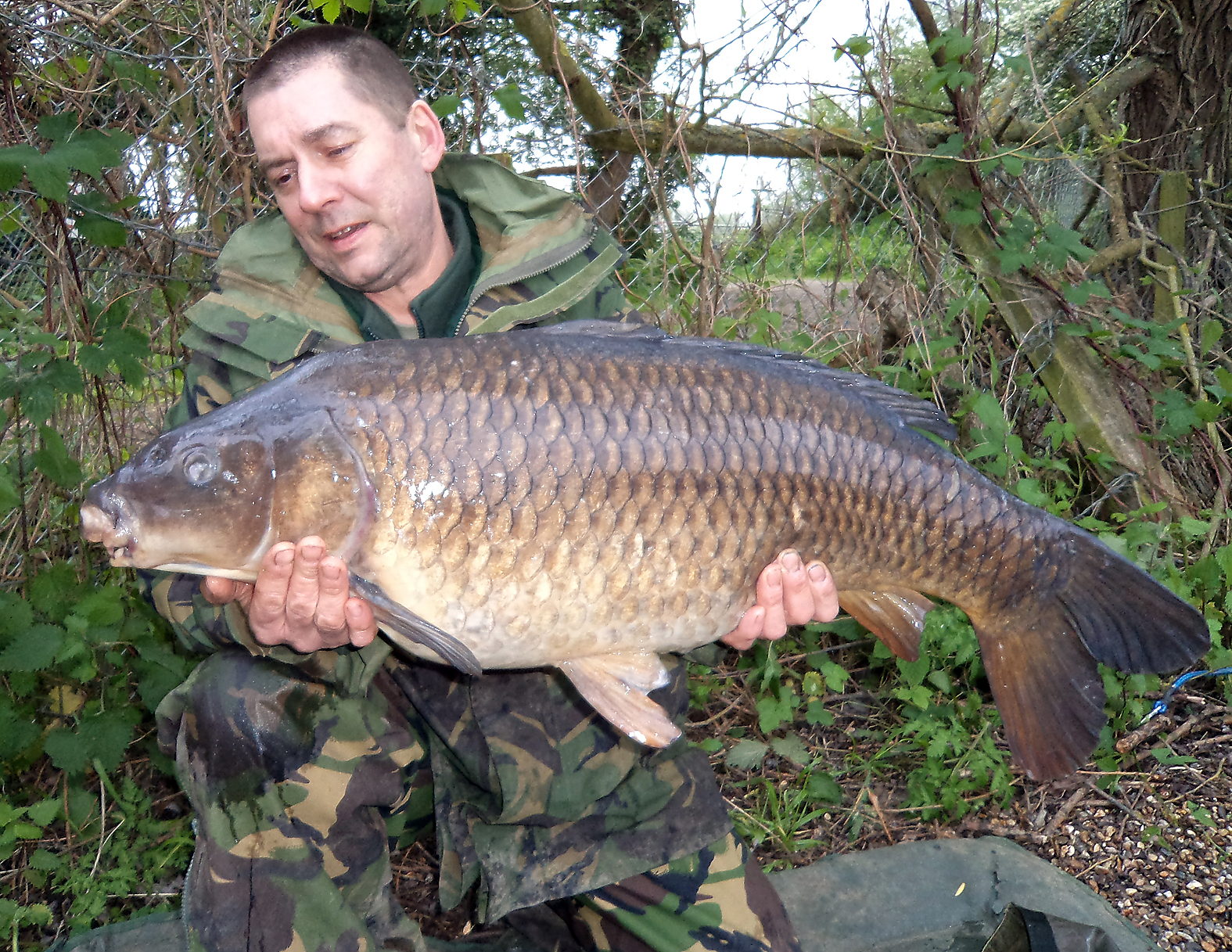 First of three during the session, Gary with a 23lb 5oz common