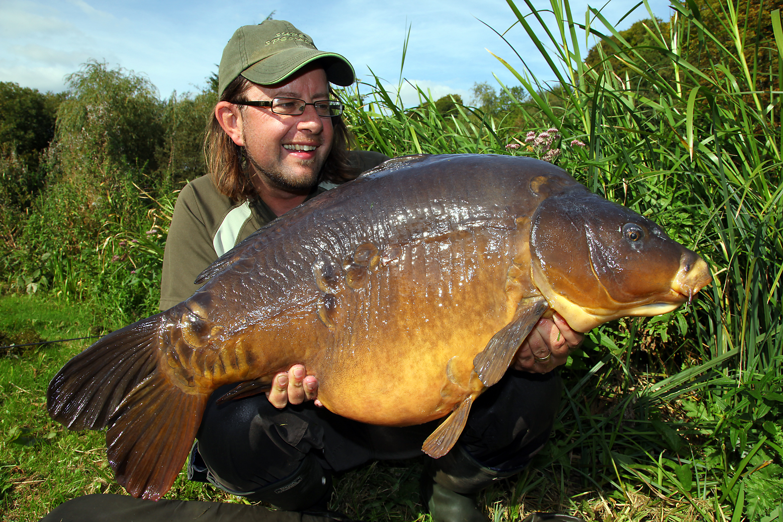 We see Martin land some stunning fish in this film