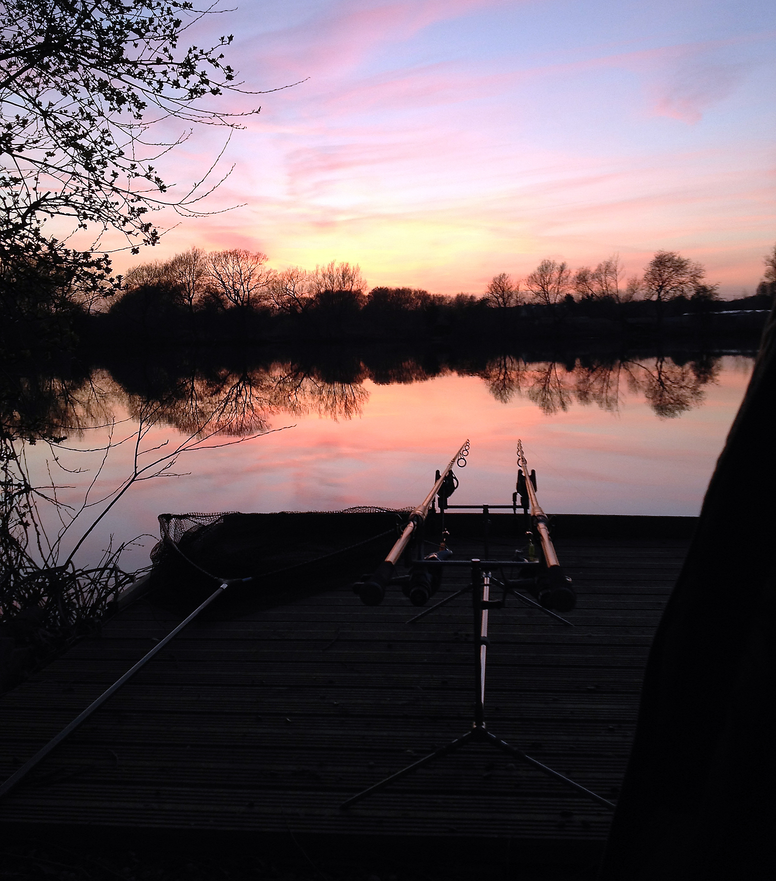 Lovely view, but where are the carp?