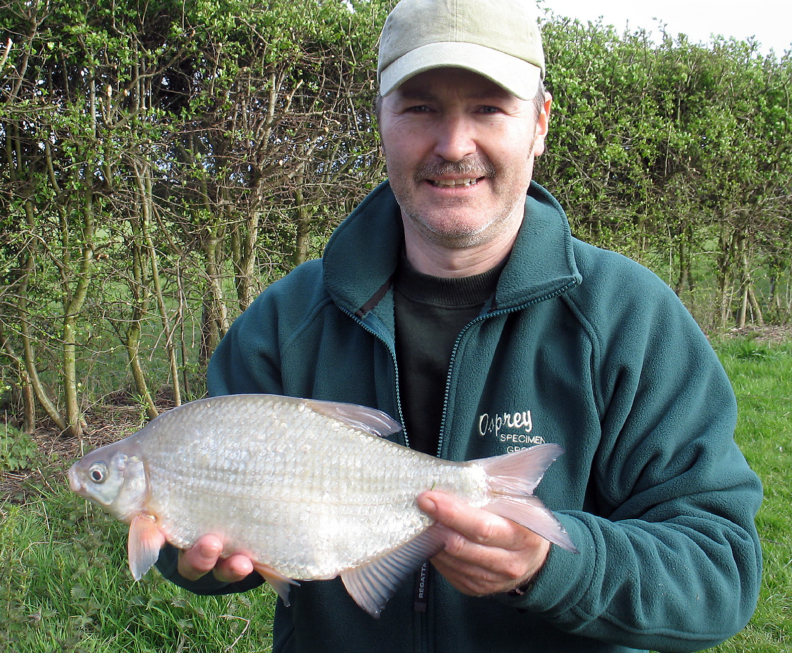 Oh so close! A 2lb 8drm silver bream, which at the time was just over an ounce off the British record