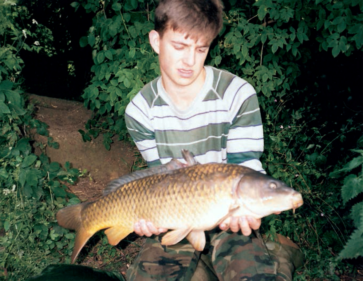 From a boy to a man, John's carping journey start's in earnest at Frampton