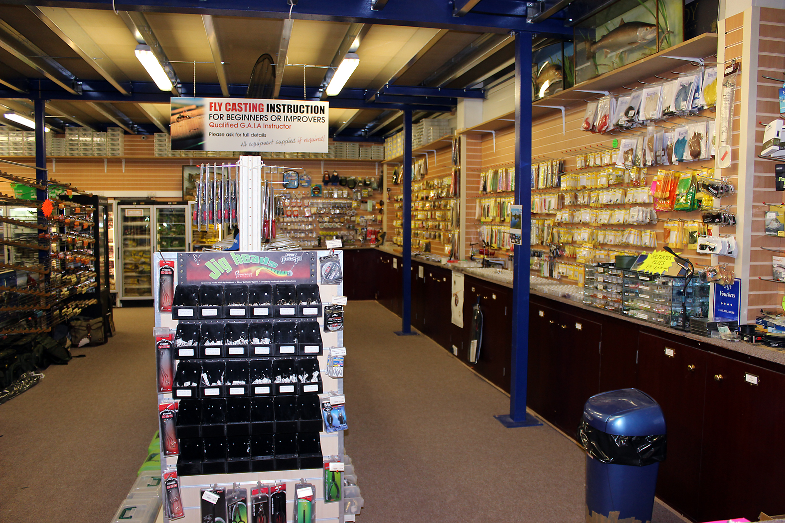 or even fly fishing tackle...