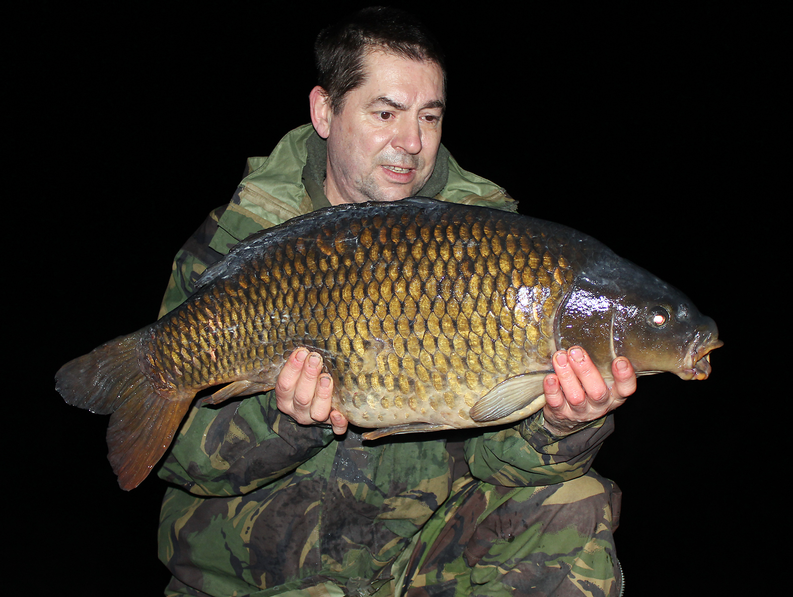 Another '20' for Gary, going 23lb 8ozs, from a 2am run