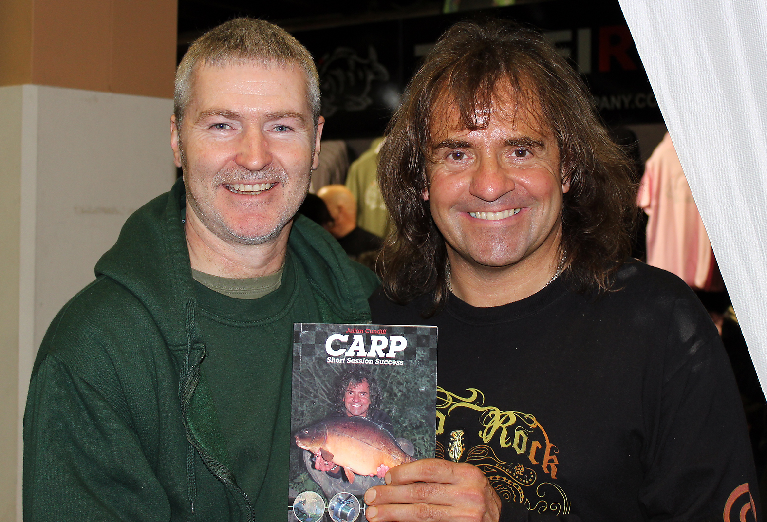 We were supposed to talk about the book not rock music! Julian Cundiff with his new book
