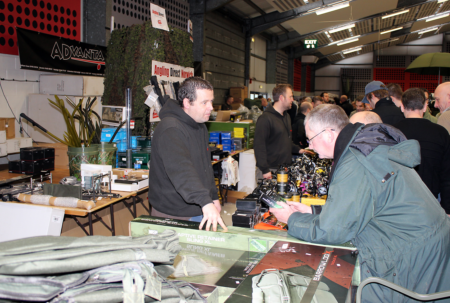 Offering good discounts on their carp products, local tackle dealers, Angling Direct