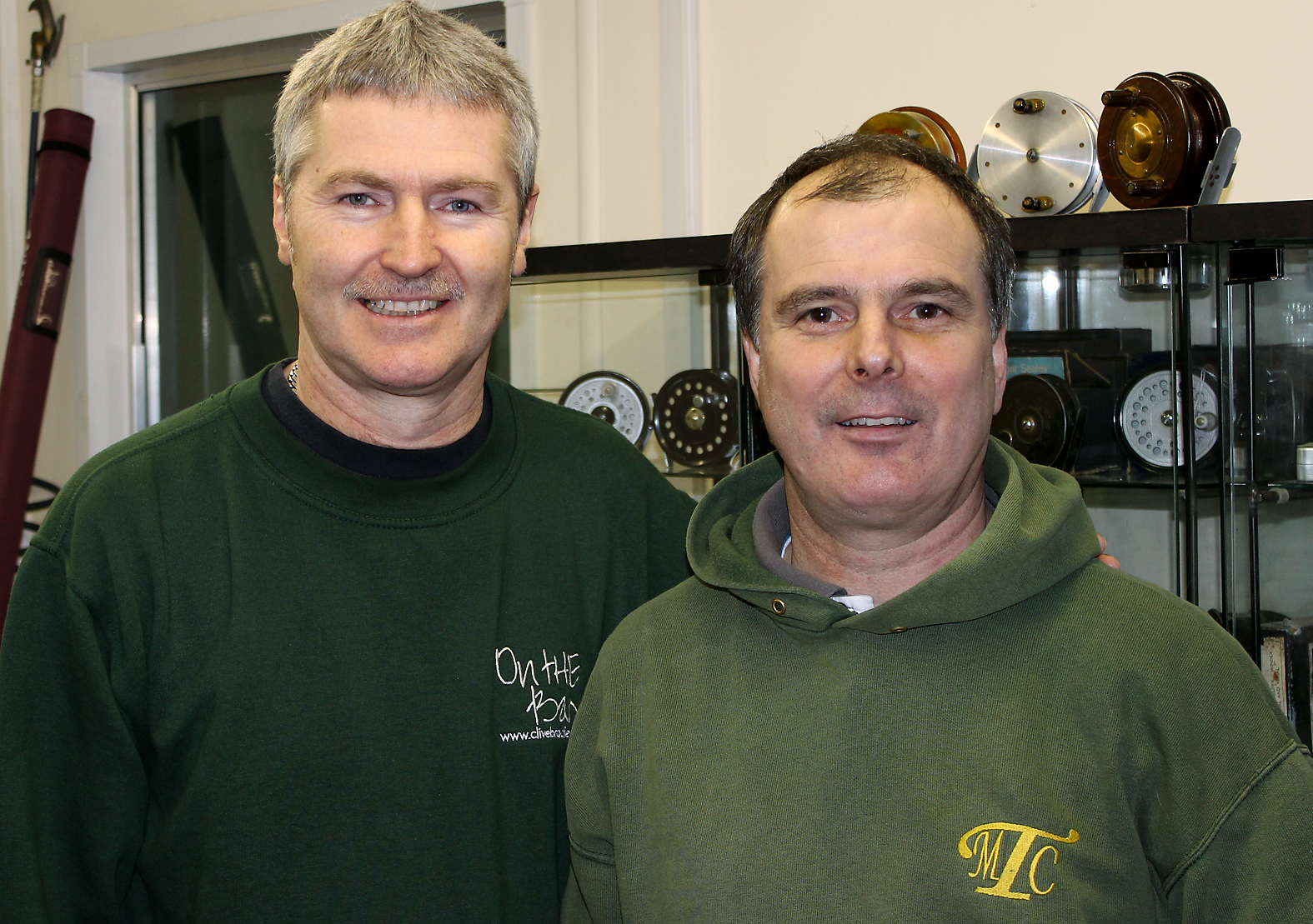 What this guy doesn't know about centrepins isn't worth knowing! Garry Mills at The Mill Tackle Company