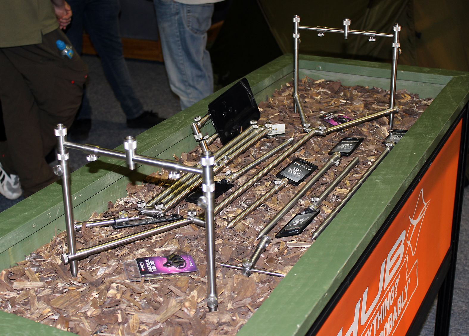Chub's Precision Lite Pod Base was tough and folds away neatly