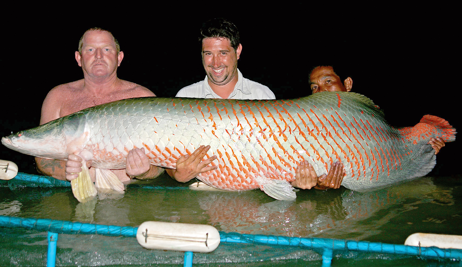 Angling Times columnist Gary Newman tells of his quest for an arapaima
