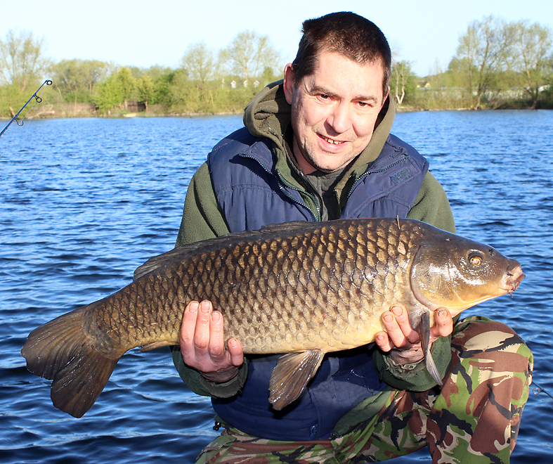 He's at it again, Gary lands a small common