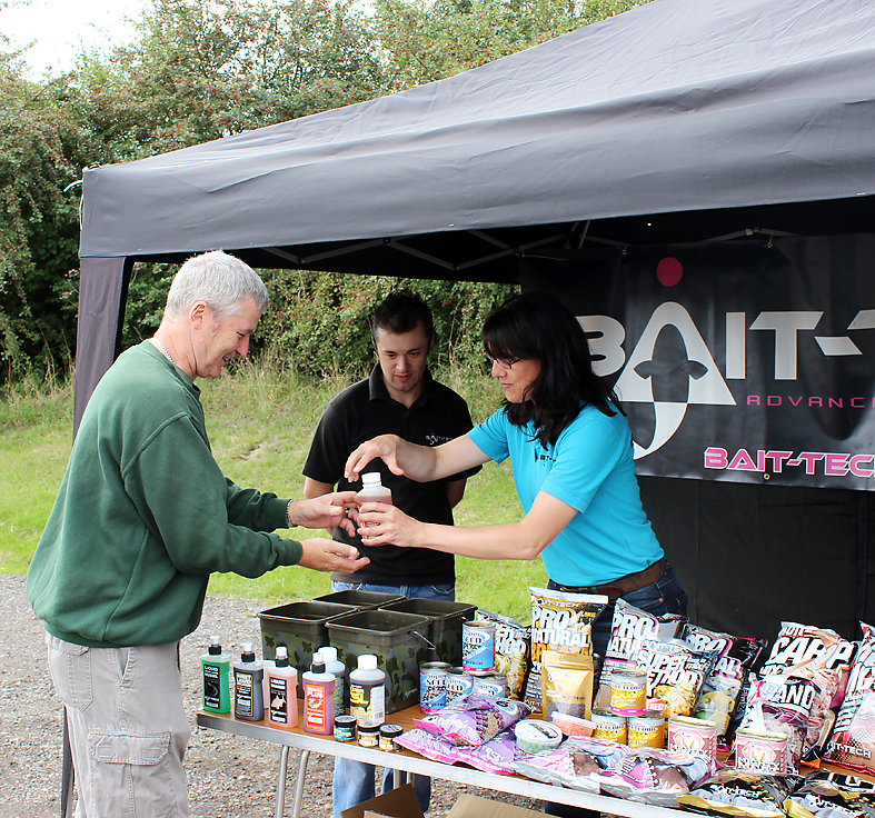 More backing from Bait-Tech... and you just know the contents of this bottle are going to stink!
