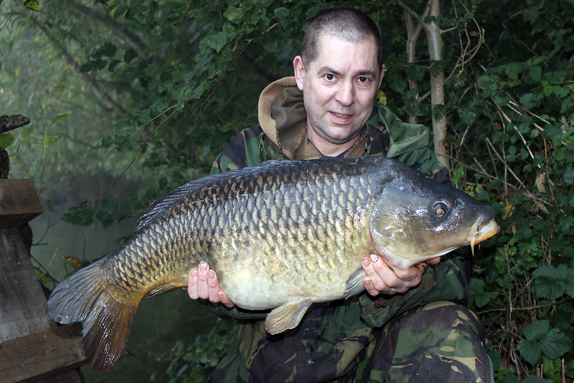 A nice chunky common, Gary's lean spell seems to be finished and he seems to be getting back amongst them