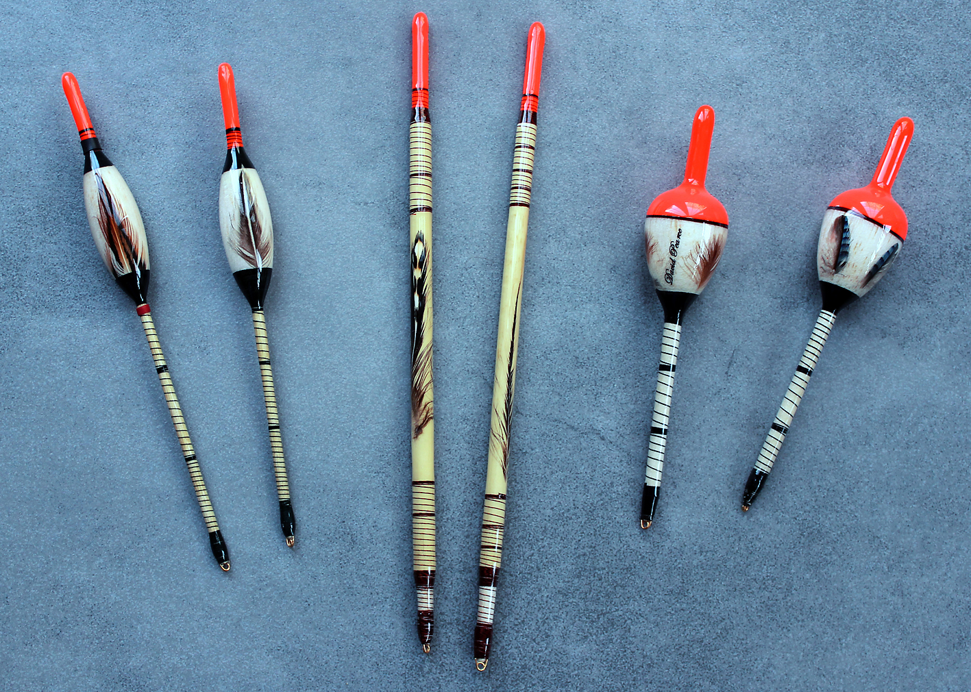 My own set of David Pearce floats, not just stunning lookers but they work perfectly too