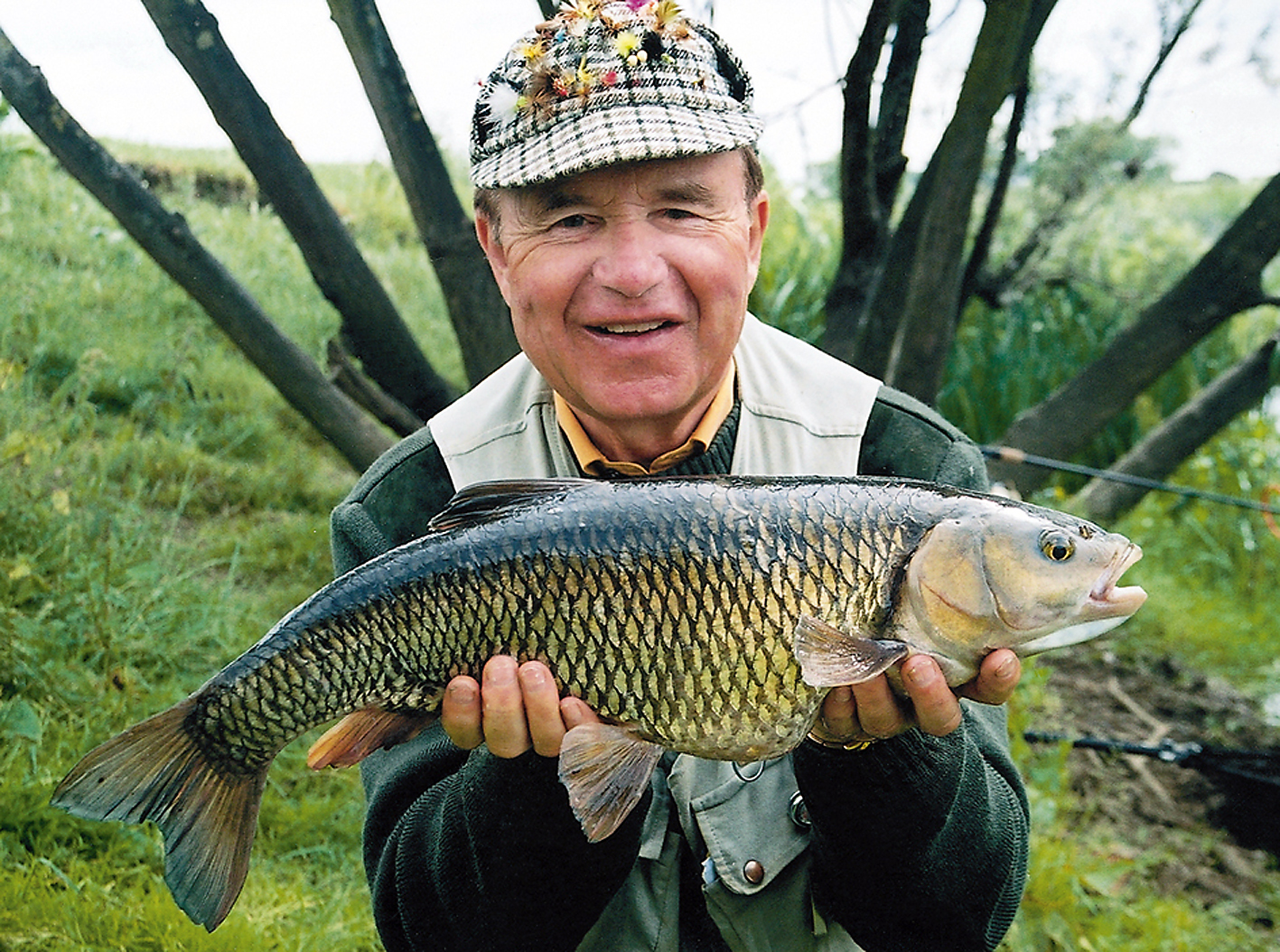 Not what Adam's Mill is most known for but Bob was just as happy to land the sizeable chub