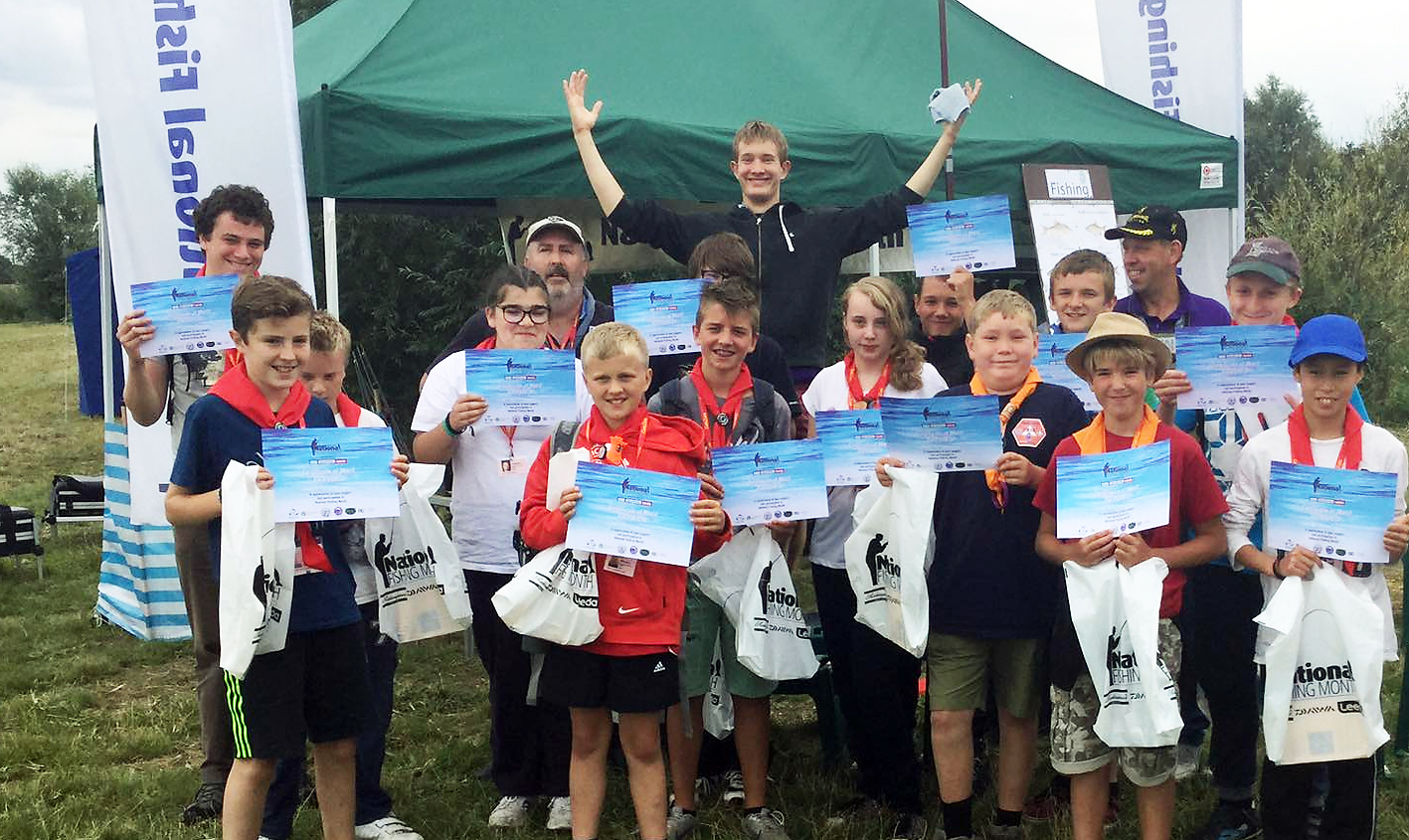 Another successful event at CamJam with the Cambridgeshire Scout organisation