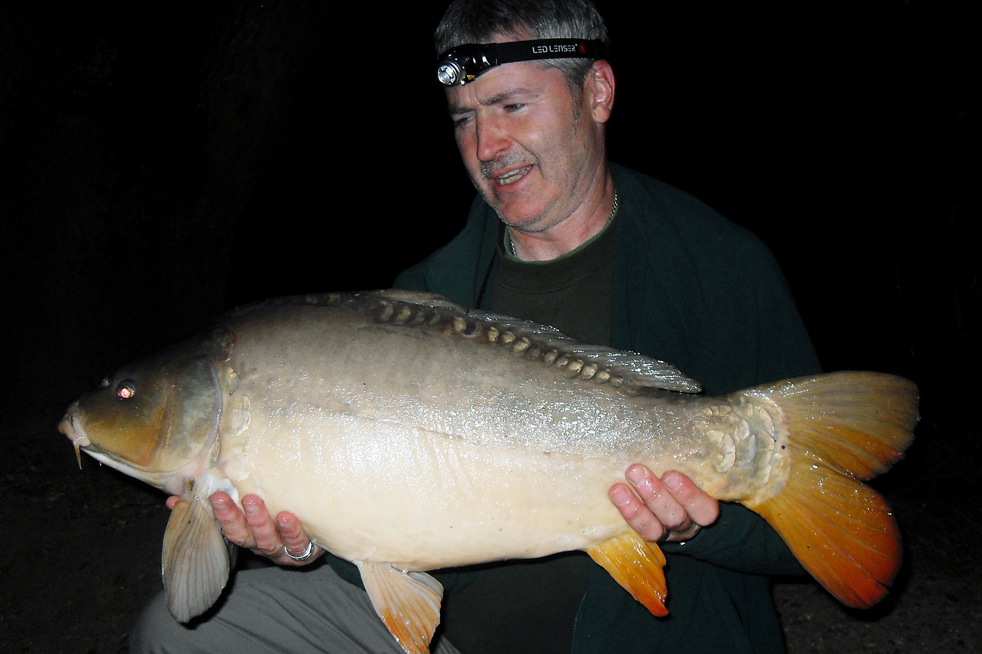 Through the night I kept catching and they seemed to be getting bigger, a 17lb+