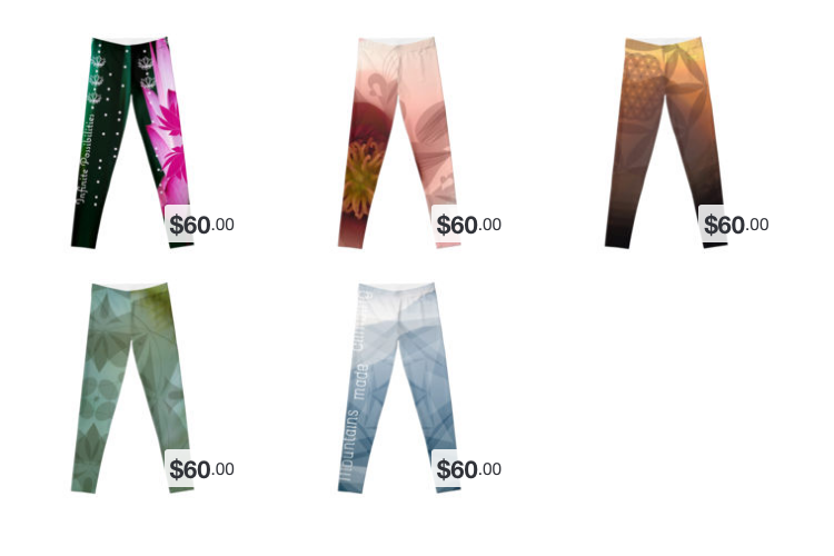 View Leggings on RedBubble