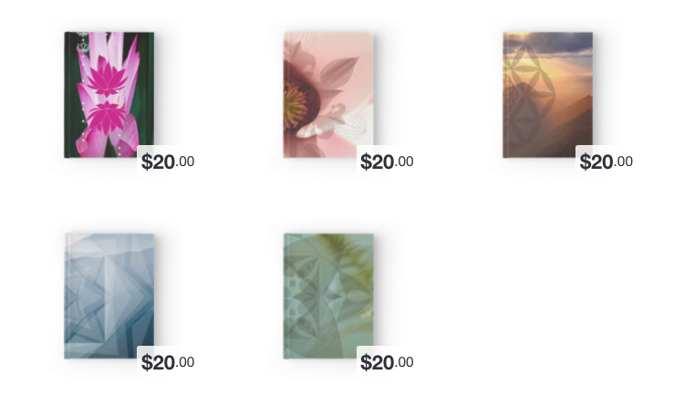 View Hardcover Journals on RedBubble