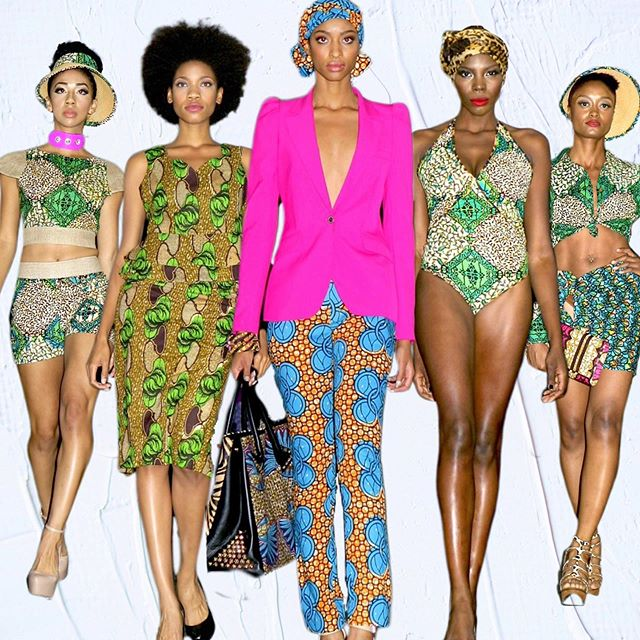 #fbf This beautiful collection was a collaboration between Nigerian designer Michelle Okosun & Ugandan designer and  socialite @iamjudithheard for their former brand aptly named 2 African Girls.  ________________________ #afwla #africafashionweek #africanfashion #lafashionweek #blackmodels #melanin #blackgirlmagic #africanprint #ankaraprint #emergingdesigner #fashionweek #supportblackbusiness #eastmeetswest #thingstodoinla #losangelesevents