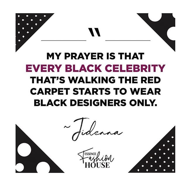 Recycle black dollars, support young designers, & wear brands that actually care about you.  #Repost @essence ・・・ #BuyBlack Point. Blank. Period. #essencefashionhouse  #afwla #africaforafricans #blackbusiness #africandesigners #madeinafrica