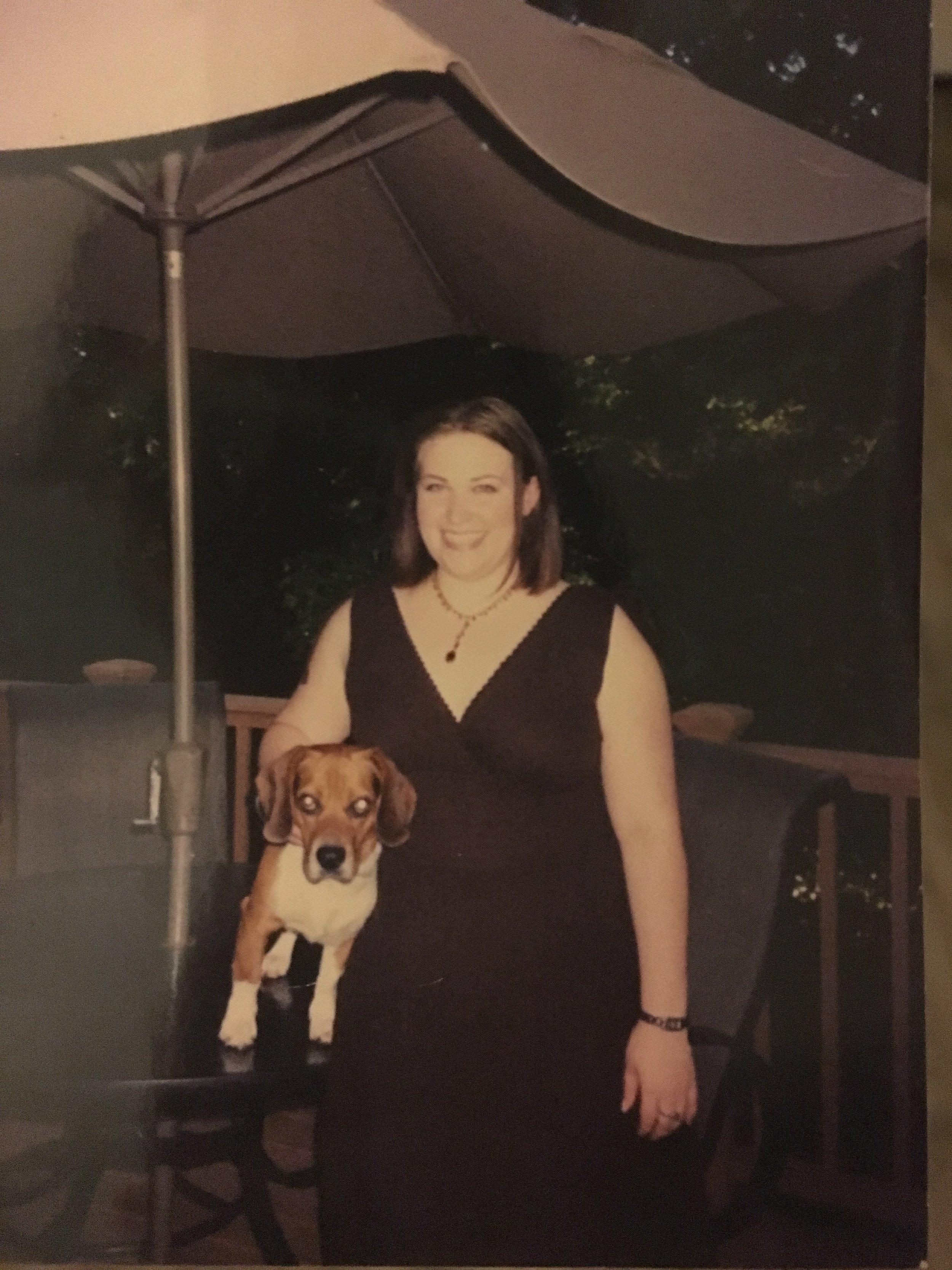 Me, circa 2008 at 205 lbs.