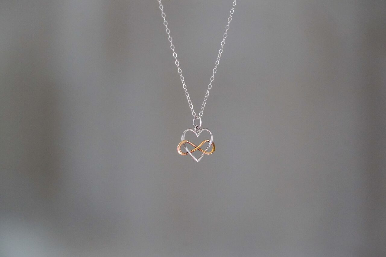Heart + Infinity Necklace