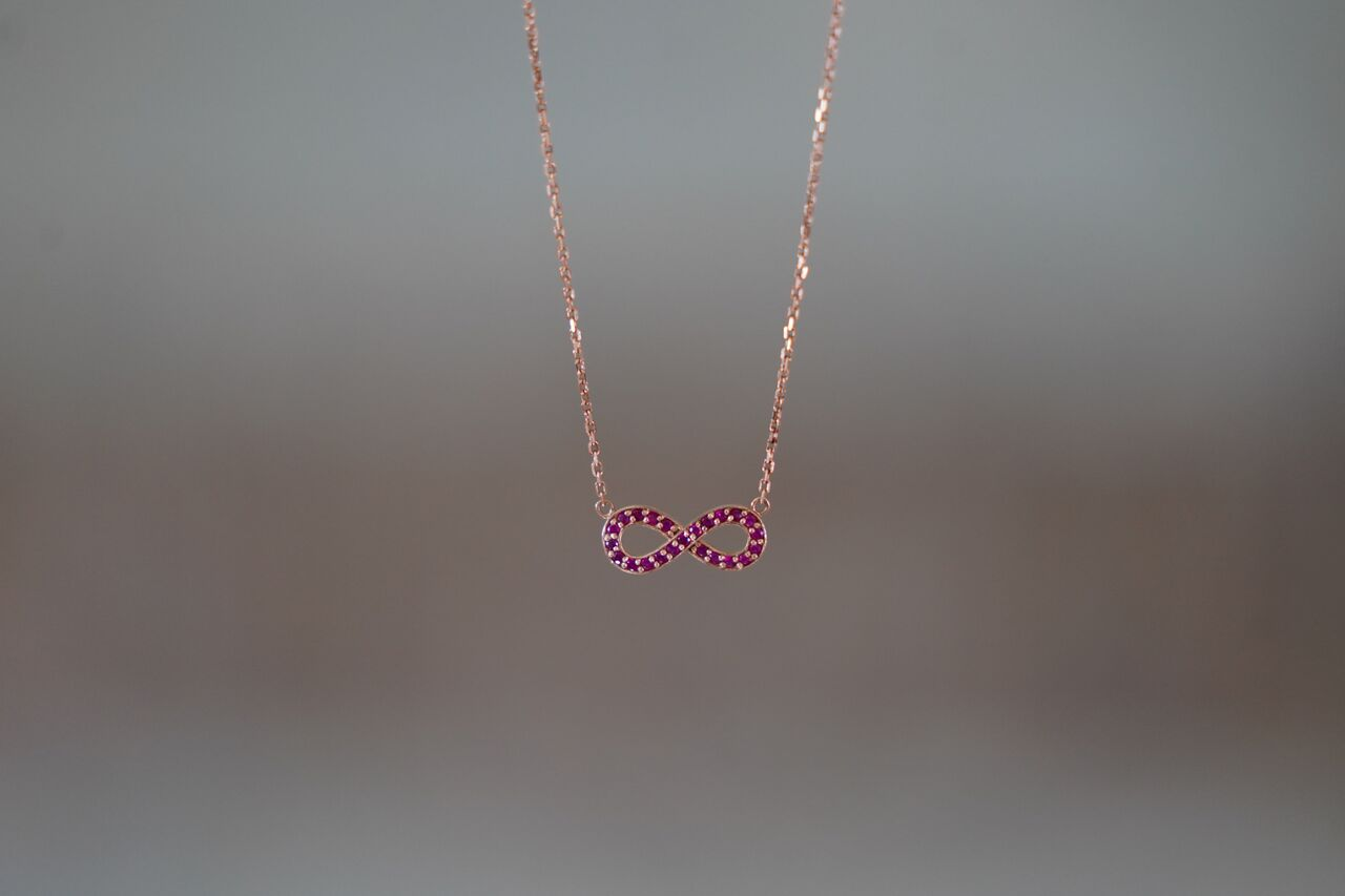 Custom Design Infinity Necklace