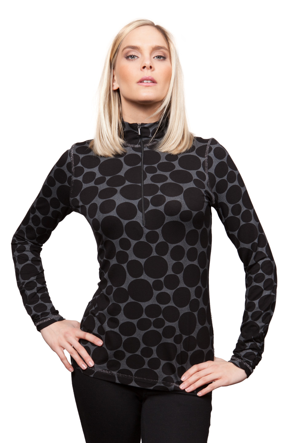 Copy of Style # 25271-16, p. 7<br>Dot Foil Print<br>Pattern: Dots <br> &nbsp