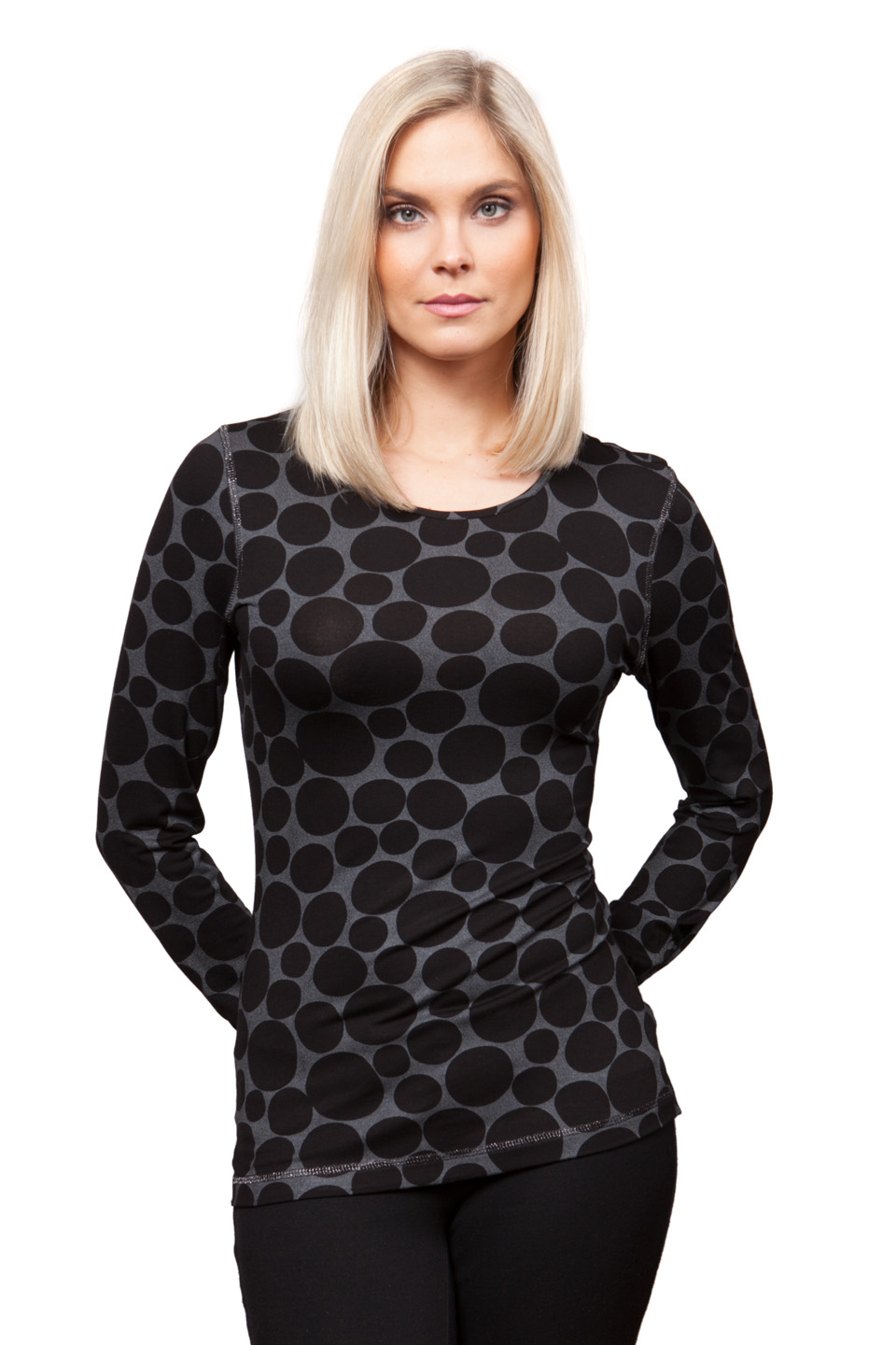 Copy of Style # 25270-16, p. 7<br>Dot Foil Print<br>Pattern: Dots <br> &nbsp