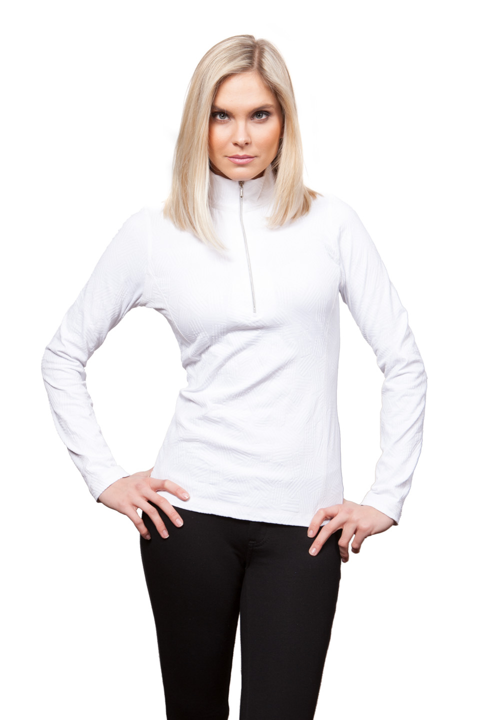 Copy of Style # 48738-16, p. 9<br>Domino Sport Jacq'd<br>Color: White, 3 colors