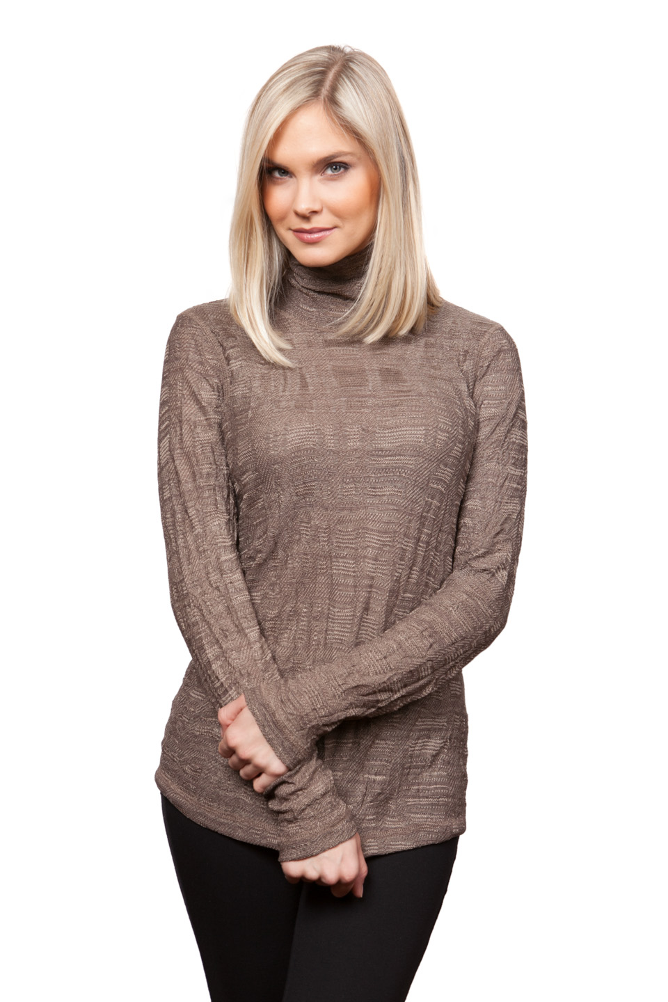 Copy of Style # 53309-16, p. 4<br>Tweedy Crinkle<br>Color: Toast, 4 colors
