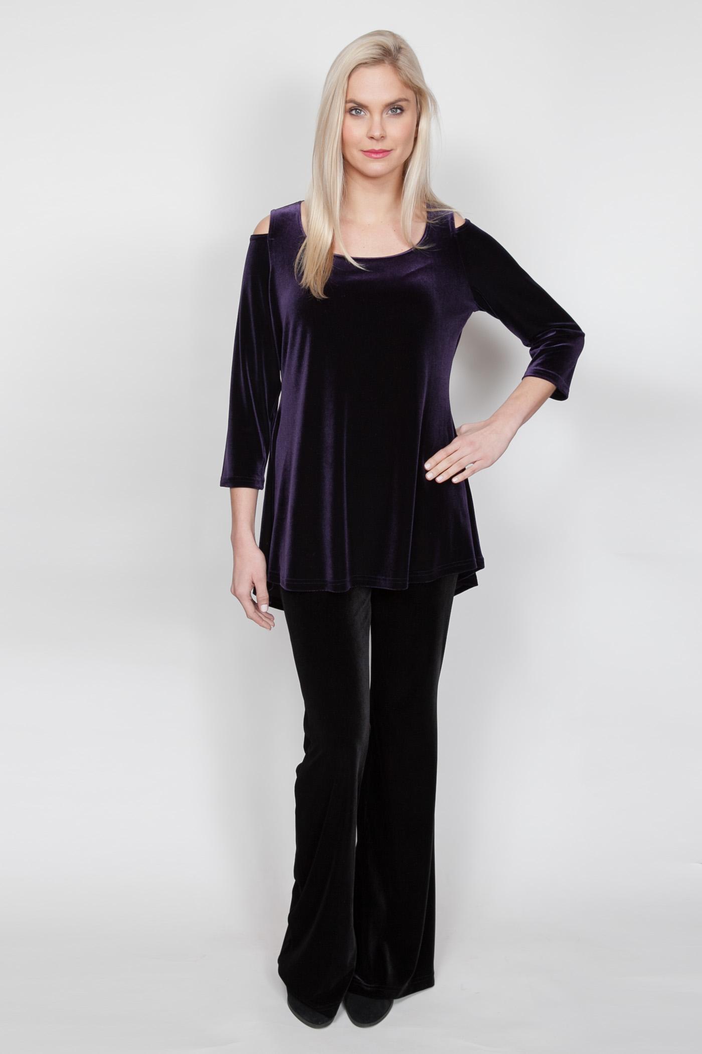 Copy of Style # 11445-18, p 13 </br>Plush Tech Velvet </br>Color: Violet + 5 others