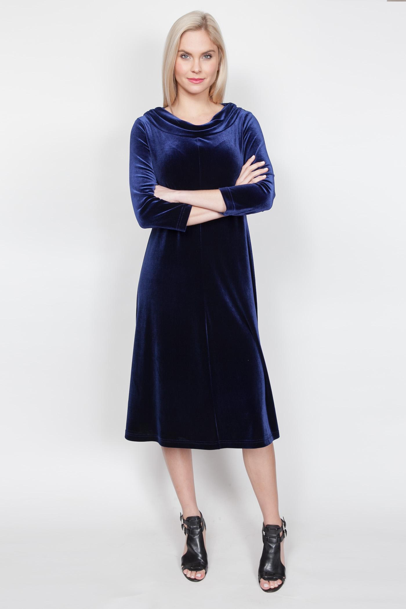 Copy of Style # 11446-18, p 13 </br>Plush Tech Velvet </br>Color: Sapphire + 5 others