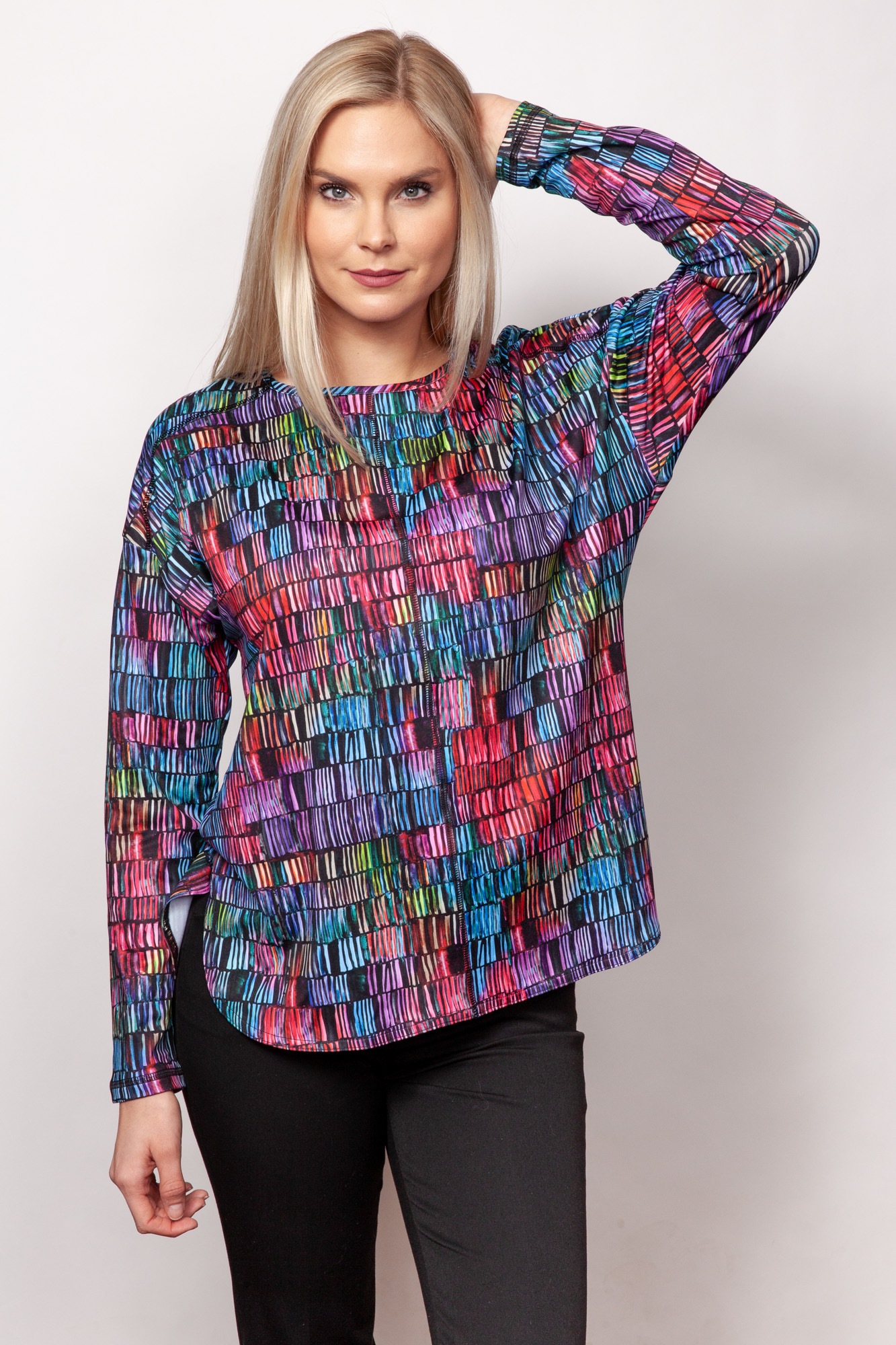 Copy of Style # 30359-19, p12 <br/>Micro Fiber Prints <br/>Patterns: Stained Glass + 11 others