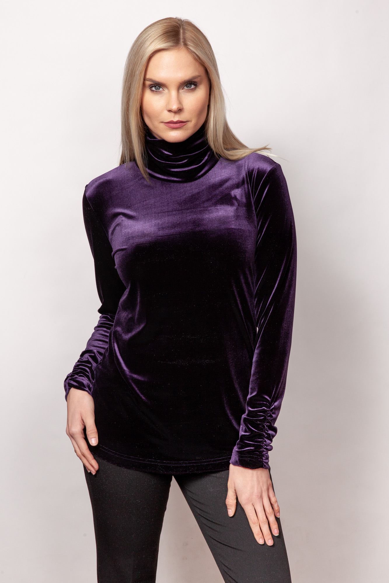 Copy of Style # 11450-19, p15 <br/>PlushTech Velvet <br/>Colors: Violet + 6 others