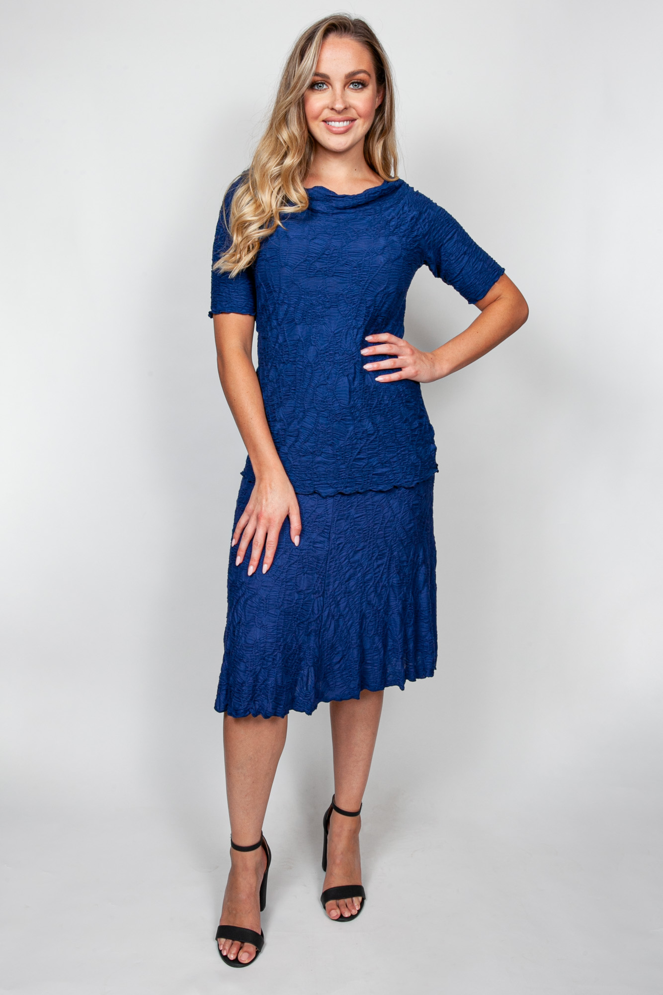 Style # 32476-20, p 6 DreamCatcher Skirt Top #32346-20 Color: Navy + 10 others