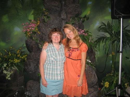 With Alissa Moreno