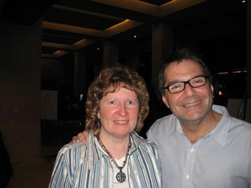 With Michael Laskow