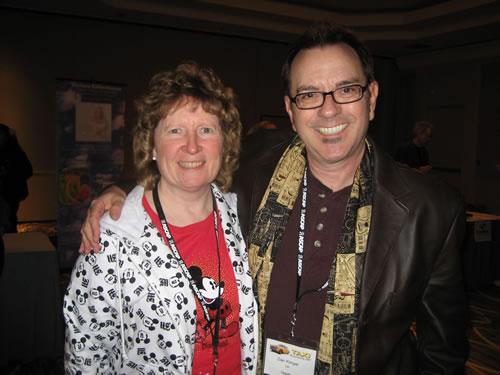 With Dan Kimpel
